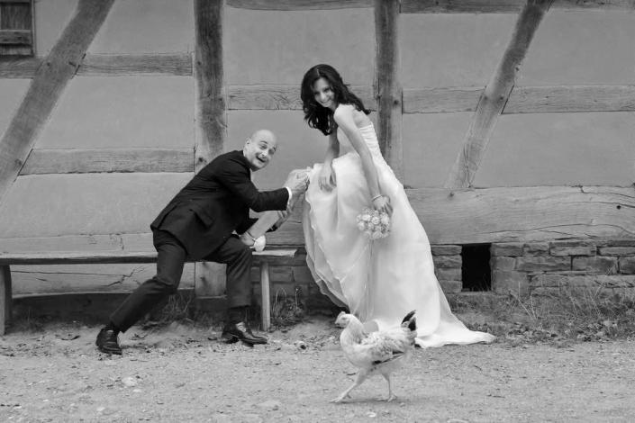 Hochzeitsfotos Reportage