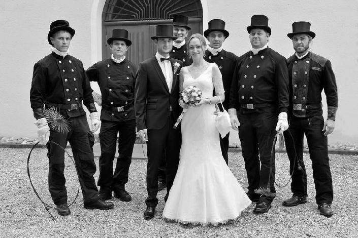 Gruppenfotos Familienfotos Hochzeit
